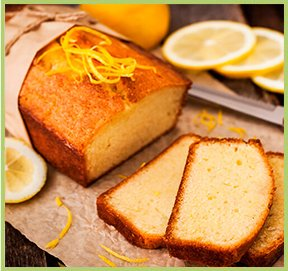 Lemon cake with yoghurt